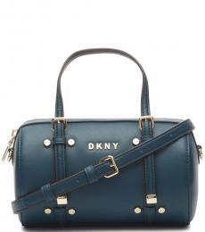 DKNY Teal Bo Mini Duffle Bag