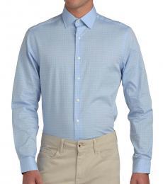 Ben Sherman Diamond Dobby Check Skinny Fit Shirt