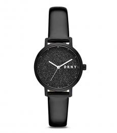 DKNY Black Shimmer Dial Watch