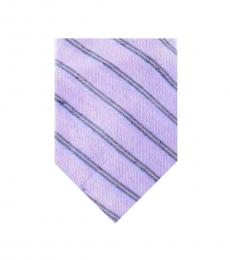 Purple Well Tailored Silk Tie