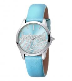 Just Cavalli Blue Striking Watch