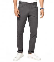 Michael Kors Smoke Parker Slim-Fit Stretch Twill Pants