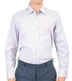 Blue Multicolor Regular Fit Shirt