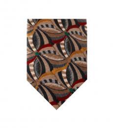 Beige Well Tailored Tie