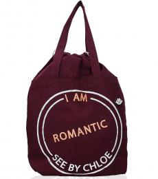 See by Chloe Cherry I Am Romantic Large Tote