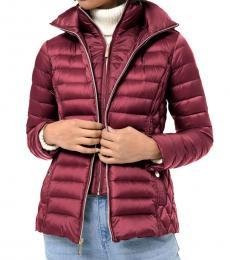 Michael Kors Cherry Packable Puffer Jacket