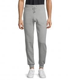 Grey Logo Pullover Joggers