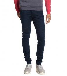 Diesel Dark Blue Fourk Slim Skinny Jeans