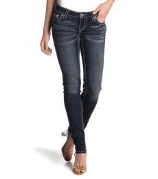 True Religion Blue Stella Skinny Jeans