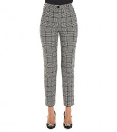 Dolce & Gabbana BlackWhite Checkered Pants