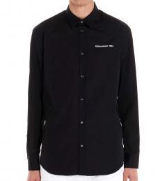 Black Pocket Logo Shirt