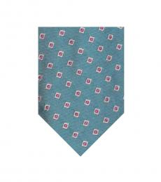 Ralph Lauren Light Blue-Pink Modish Tie