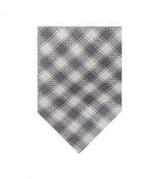 Michael Kors Grey Gingham Tie
