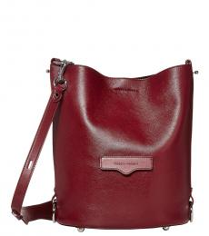 Rebecca Minkoff Pinot Noir Utility Convertible Large Bucket Bag