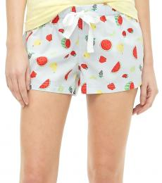 J.Crew White Cotton Sleep Short