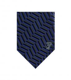 Versace Royal Geometric Silk Tie