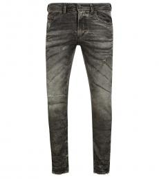 Diesel Grey Slim Fit Jeans
