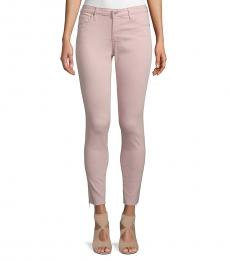 AG Adriano Goldschmied Peaked Pink Super Skinny Ankle Jeans
