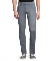Michael Kors Grey Slim-Fit Jeans