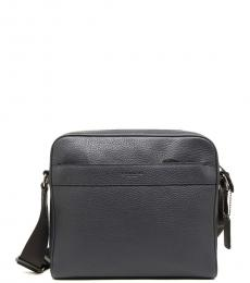 Coach Midnight Navy Charles Large Crossbody