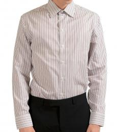 Multicolor Striped Dress Shirt