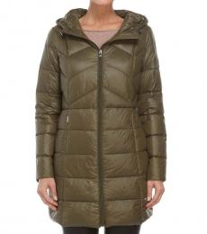 Ralph Lauren Soft Loden Packable Quilted Down Jacket