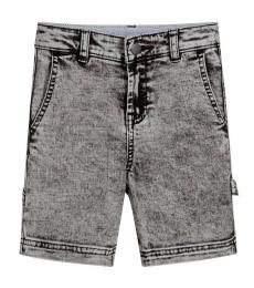 Stella McCartney Boys Grey Denim Shorts