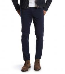 Navy Adrien Slim Straight Jeans