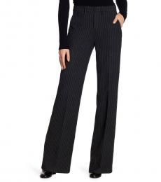 AG Adriano Goldschmied Black High Rise Wide Trouser