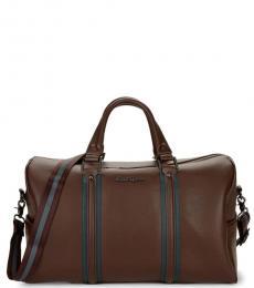 Robert Graham Brown Chestertown Large Duffel Bag