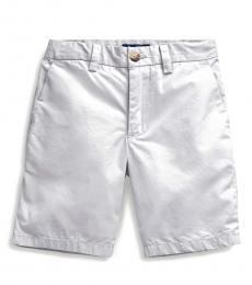 Ralph Lauren Little Boys Light Smoke Poplin Shorts