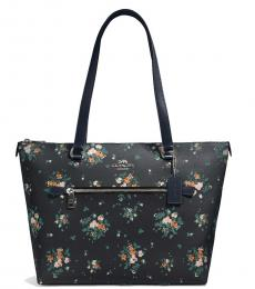 Coach Midnight Rose Bouquet Medium Tote