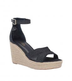 Ralph Lauren Denim Halda Wedges