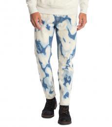 Diesel Light Blue Jifer Bleach Stain Jeans