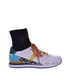 Multicolor Hi-Top Sneakers