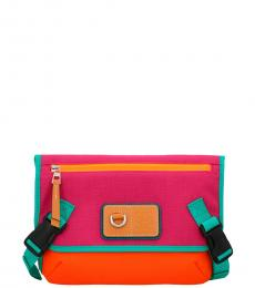 Multicolor Messanger Medium Crossbody