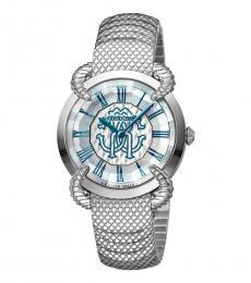 Gray-Silver Snake Watch