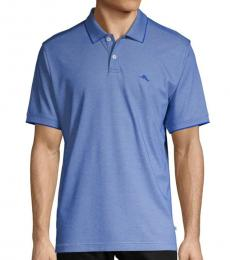 Blue Classic Short-Sleeve Polo