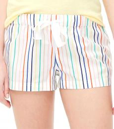 J.Crew Off White Cotton Sleep Short