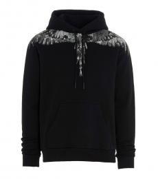 Black Camou Wings Sweatshirt