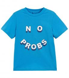 Stella McCartney Little Boys Blue No Probs T-Shirt