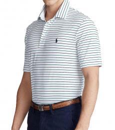 Ralph Lauren Pure White Multi Classic-Fit Polo
