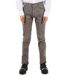 Armani Jeans Grey Slim Fit Pocket Pants