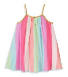 Juicy Couture Baby Girls Pink Multi Stripe Dress