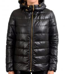 Versus Versace Black Reversible Goose Down Jacket