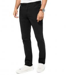 Michael Kors Black Parker Slim-Fit Stretch Twill Pants