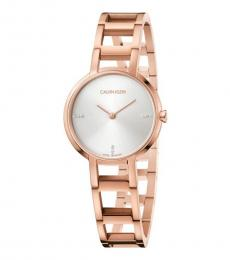 Rose Gold Decisive Time Piece