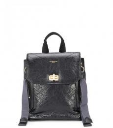 Black ID Mini Backpack