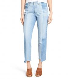 AG Adriano Goldschmied Light Blue Vintage High Waist Jeans