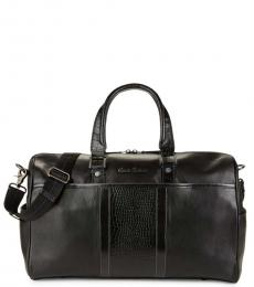Robert Graham Black Chatsworth Large Duffle Bag